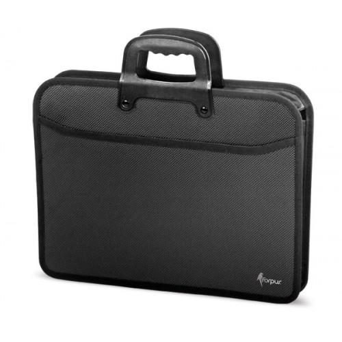 Kovčeg za dokumente Forpus, crn