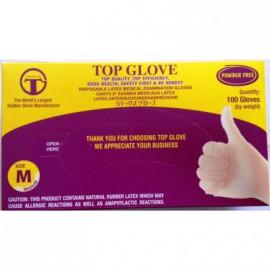 Rokavice za 1x uporabo -top glove,latex, ne pudrane