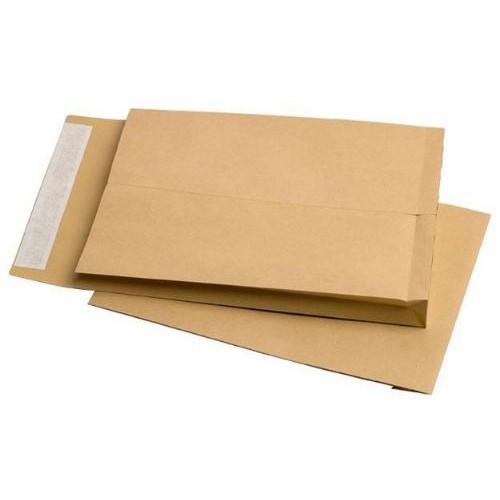 Kuverta vrećica C4, smeđa 1/1