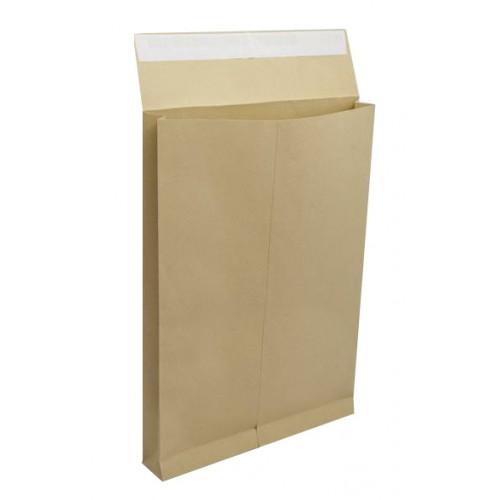 Kuverta vrećica B4/4, smeđa 250/1