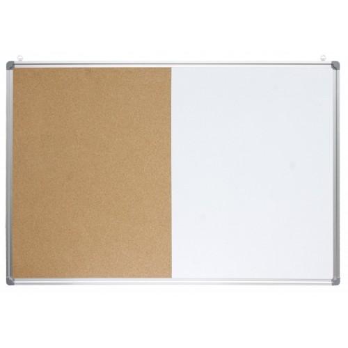 Ploča Optima 90 x 120 cm, kombinirana (pluto  + magnet)