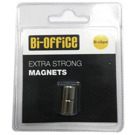 Magneti za staklene ploče Bi-Office, 2/1