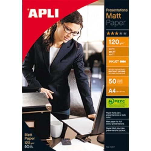 Foto papir APLI A4 Matt - 120g, 50 listova
