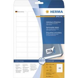 Etikete Herma No. 4346 - 45,7 x 21,2 mm