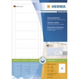 Etikete Herma No. 4479 - 88,9 x 33,8 mm