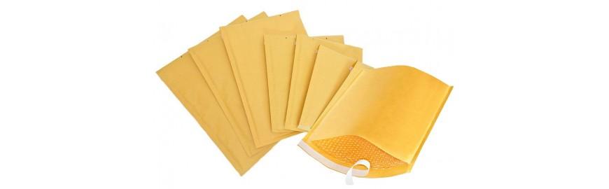 Žute kuverte s jastučićima
